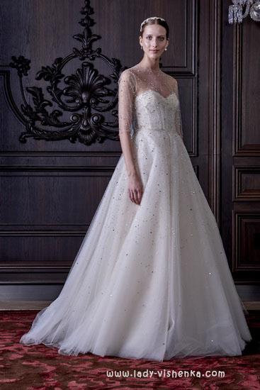 Весільні сукні 2016 року - Монік Люлье