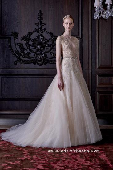 Красиві весільні сукні - фото Монік Люлье