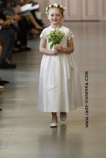 Дитячі весільні сукні Oscar De La Renta