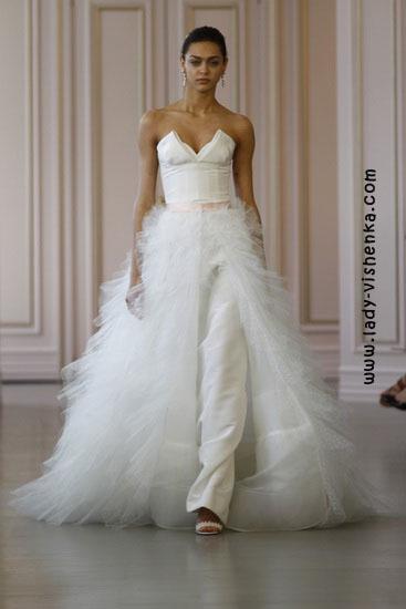 Незвичайні весільні сукні Oscar De La Renta