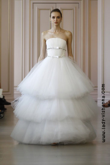 Оригінальні весільні сукні Oscar De La Renta