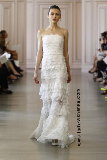 Модні весільні сукні фото Oscar De La Renta