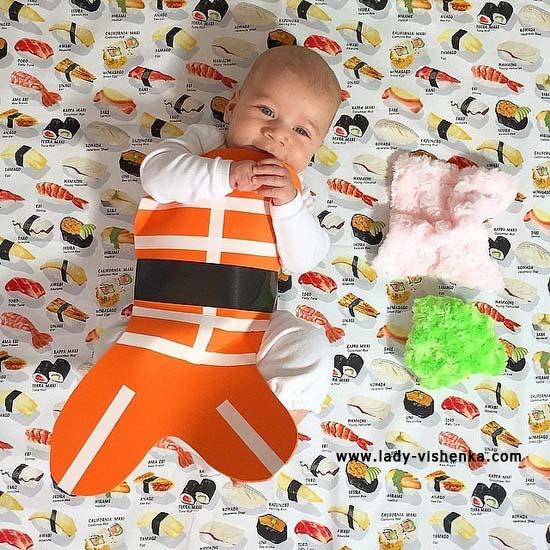 Костюм суші для малюків