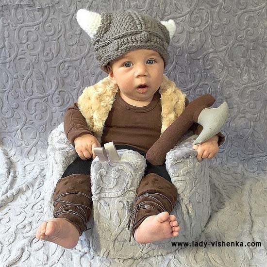 Костюм вікінга для малюка