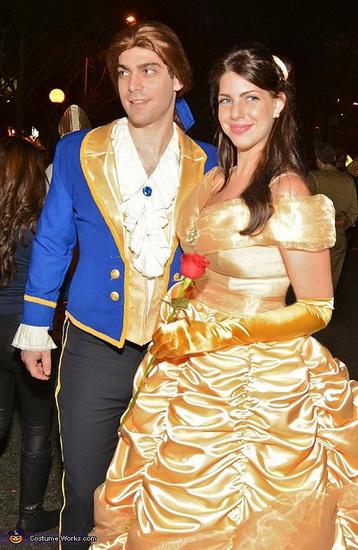 Бель і принц на Хеллоуїн