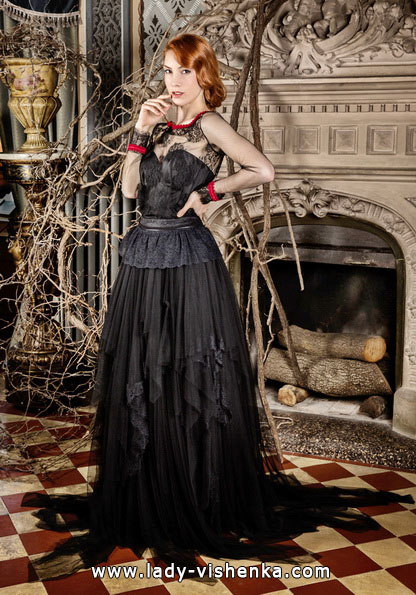 Чорне весільне плаття - Jordi Dalmau