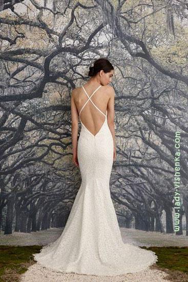 Весільні сукні фото Nicole Miller