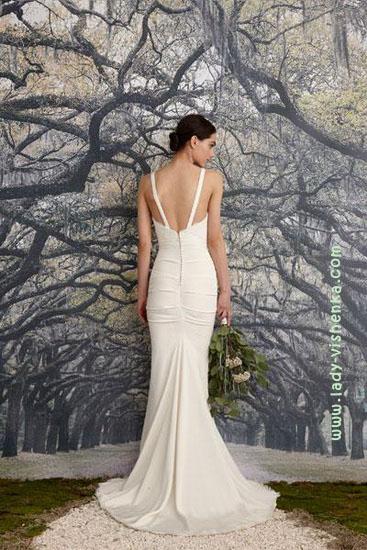 Весільні сукні Nicole Miller - спина