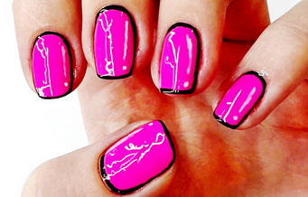 Мультяшний дизайн нігтів
