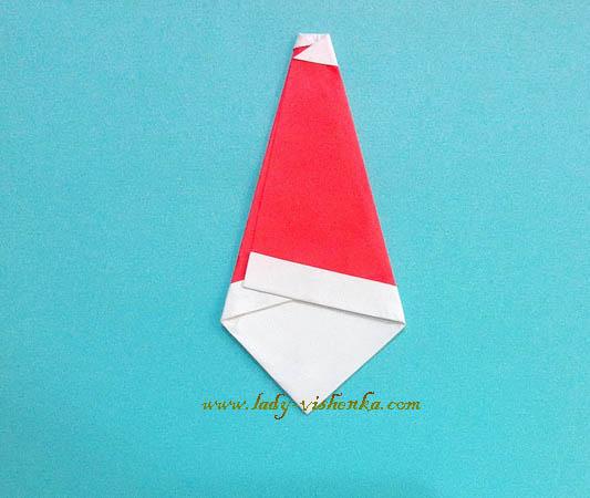 Паперовий Дід Мороз