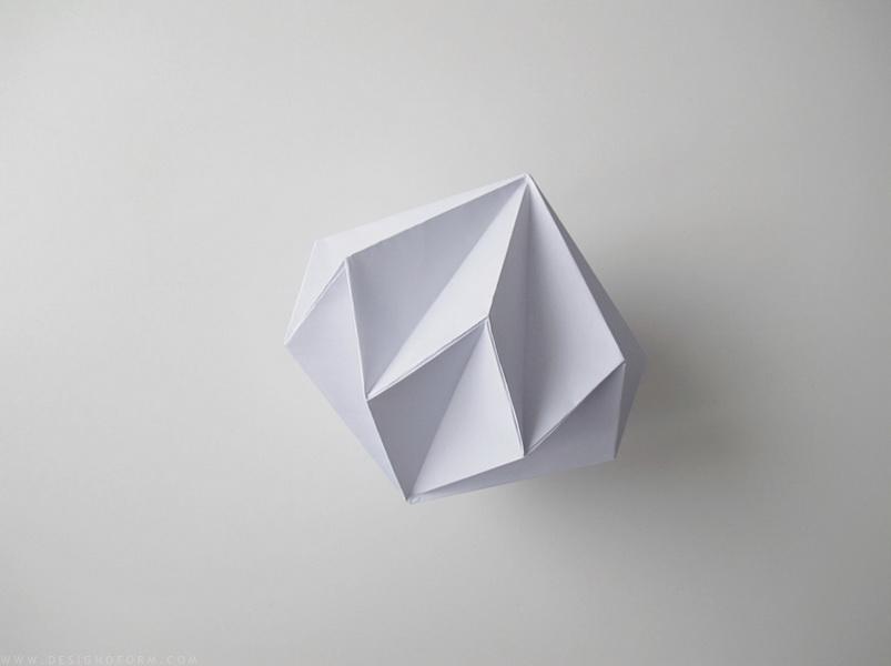 Ялинкові іграшки з паперу фото