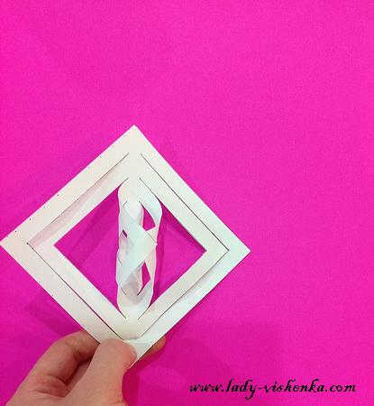 Як робити сніжинки з паперу