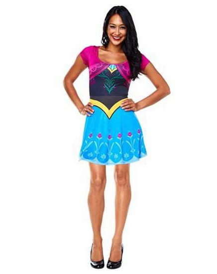 Сучасний костюм Анни на Хеллоуїн