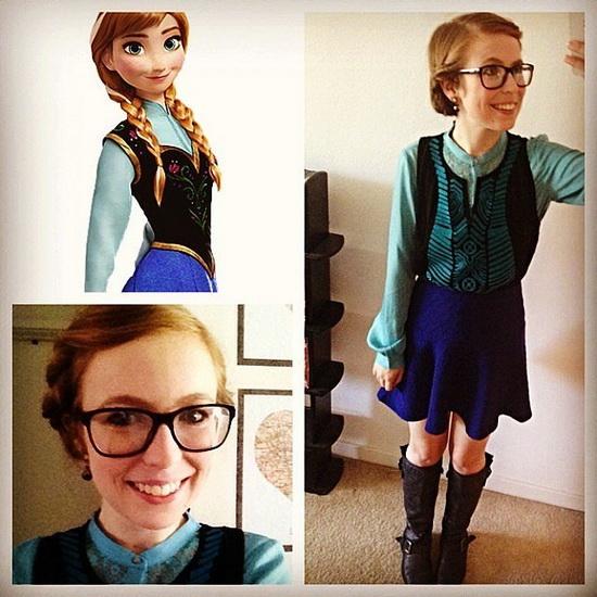 Легкий костюм Анни на Хеллоуїн