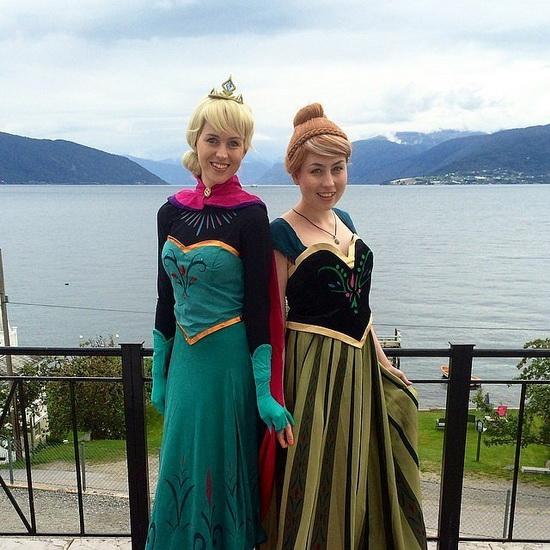 Анна і Ельза - костюм на Хеллоуїн для дівчини