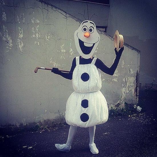 Олаф - ідея костюма на Хеллоуїн