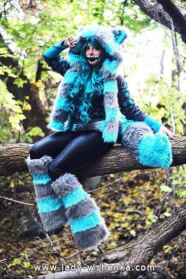 Сексі костюм чеширської кішки на Хеллоуїн