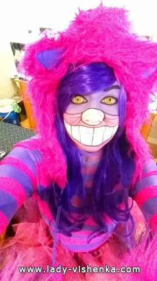Черширская кішка на Хеллоуїн для дівчат