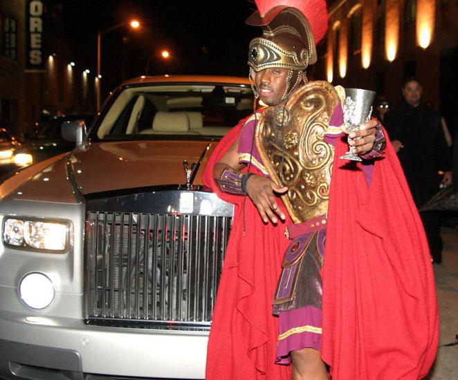 Знаменитості у костюми на Хеллоуїн - Арес
