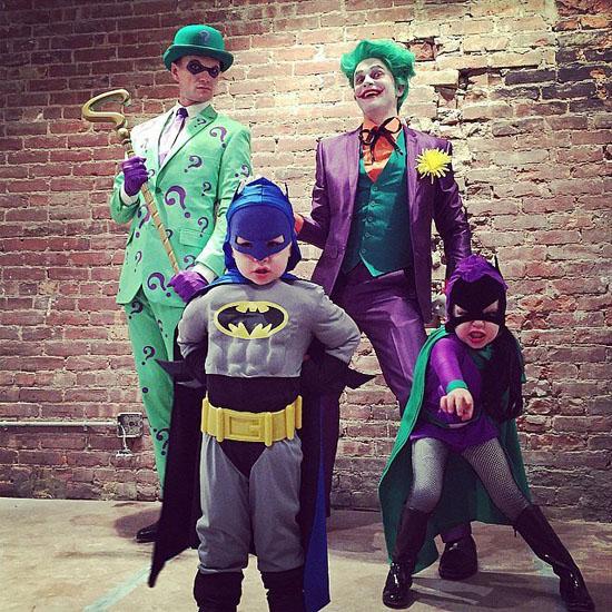 Бетмен з друзями - костюми на Хеллоуїн