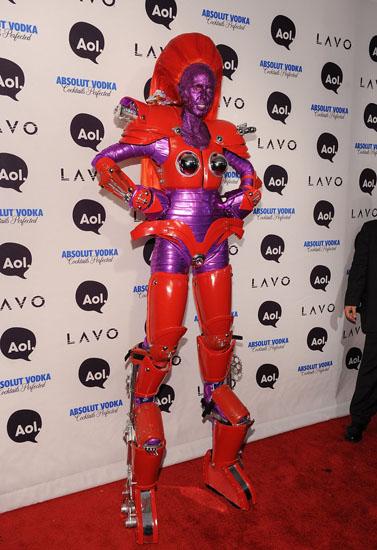 Знаменитості у костюми на Хеллоуїн - Робот