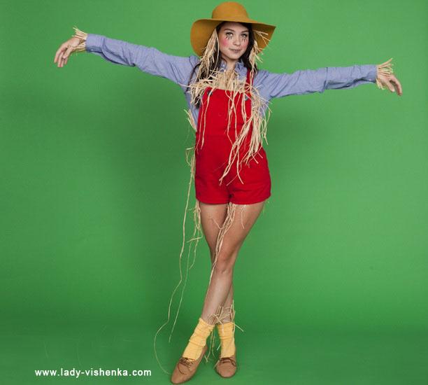 Простий костюм на Хеллоуїн - Опудало