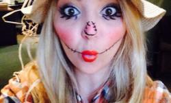Образи на Хеллоуїн для дівчат - Пугало