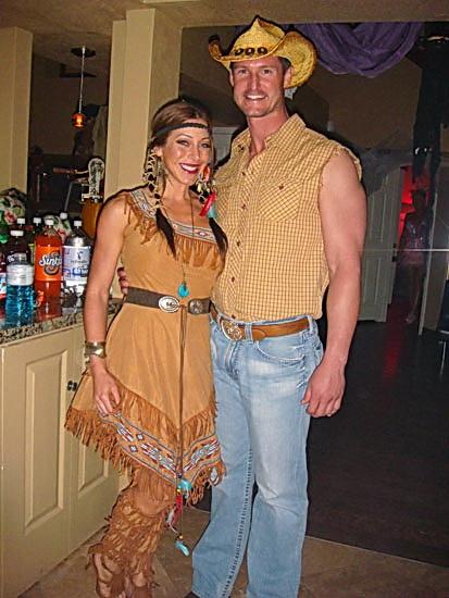 Просте плаття Покахонтас на Хеллоуїн