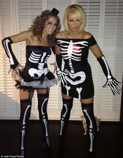 Скелет на Хеллоуїн плаття