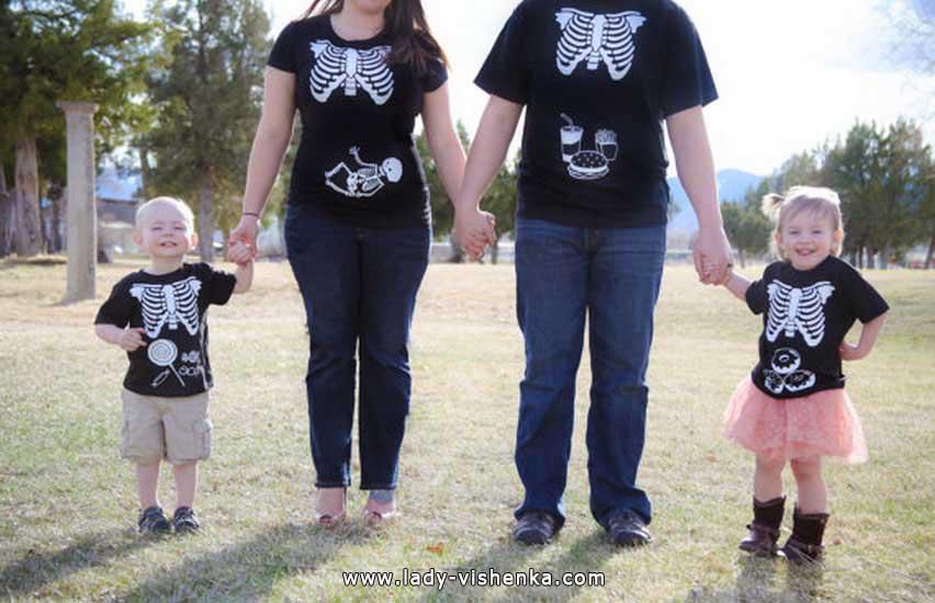 Скелети на Хеллоуїн для всієї родини