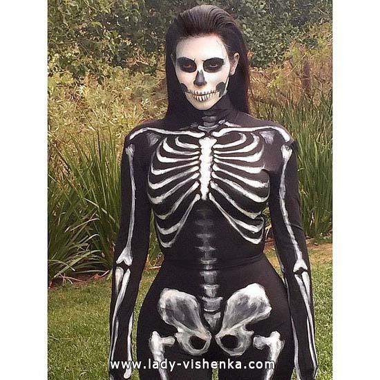 Скелет на Хеллоуїн