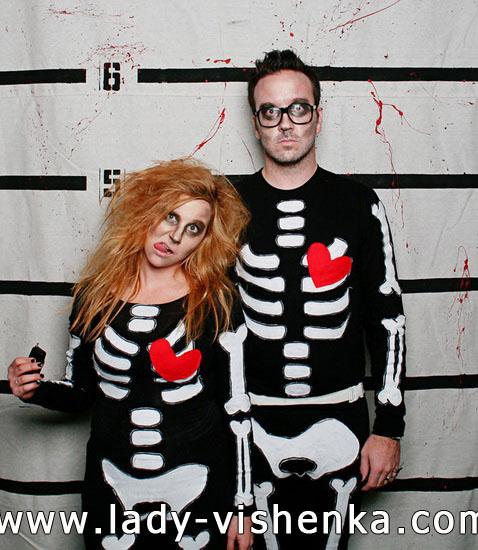 Скелет - костюм для пари на Хеллоуїн