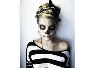 Костюм скелета для дівчат на Хеллоуїн