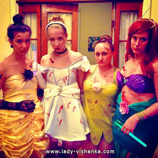 Образ Диснеївській принцеси своїми руками на Хеллоуїн