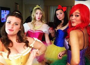 Диснеївські принцеси на Хеллоуїн