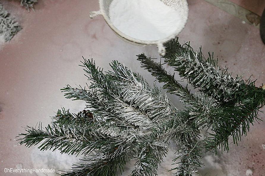 Сніг для штучної ялинки