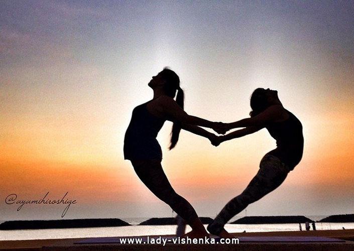 Йога для двох - Відкрите серце