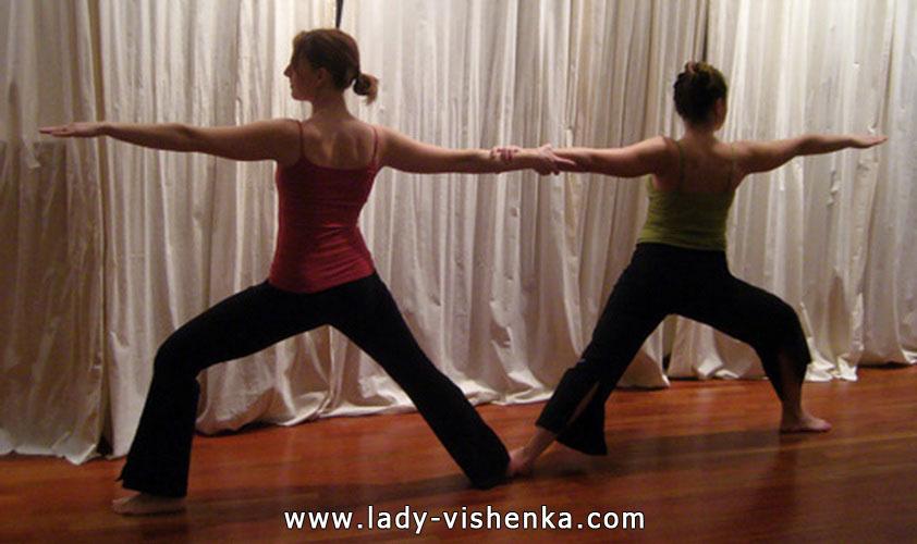 Йога для двох - Два Воїна 2