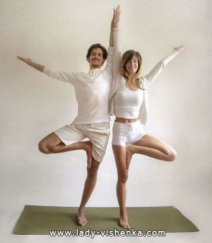 Йога для двох - Подвійне дерево