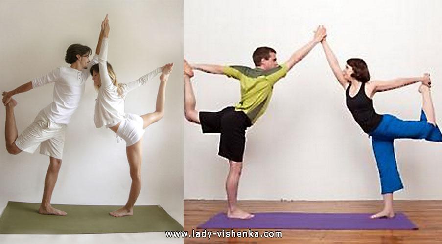 Йога для двох - Подвійний танцюрист