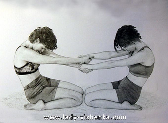 Йога для двох - Два героя