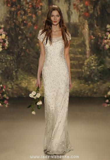 Весільну сукню зі стразами