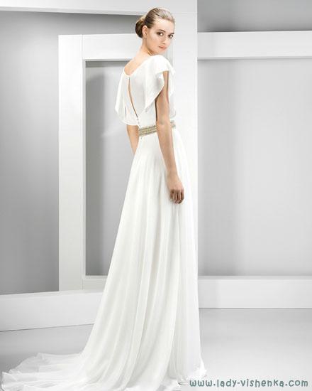 Весільні сукні з закритими плечима Jesus Peiro