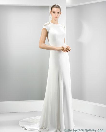Прості весільні сукні Jesus Peiro