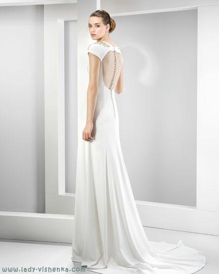 Просте весільну сукню Jesus Peiro
