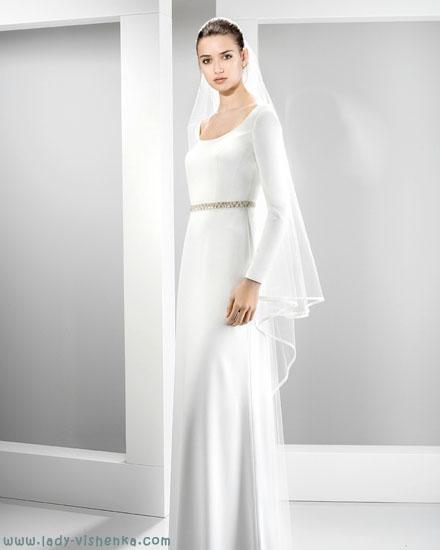 Скромна весільна сукня Jesus Peiro