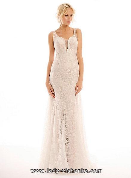 Довга мереживна весільна сукня 2016 - Eugenia Couture