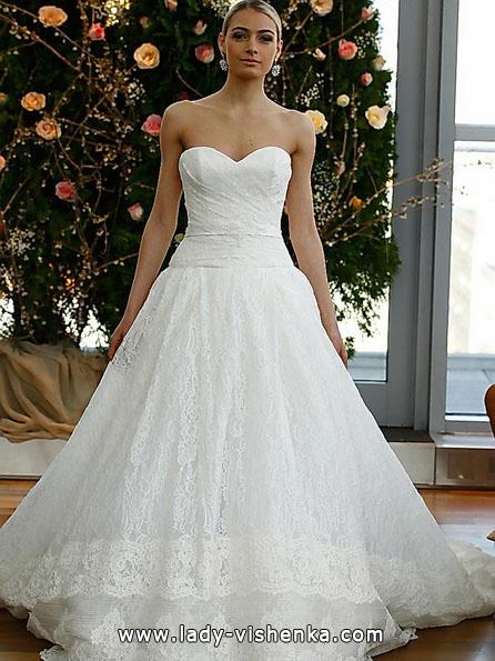 пишне Весільне мереживне плаття - Isabelle Armstrong
