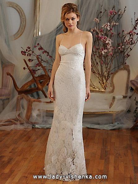 Весільні сукні з мереживом 2016