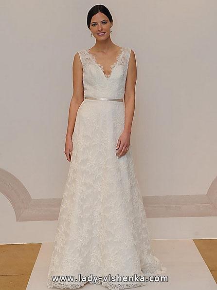 Довга мереживна весільна сукня 2016 - Judd Waddell